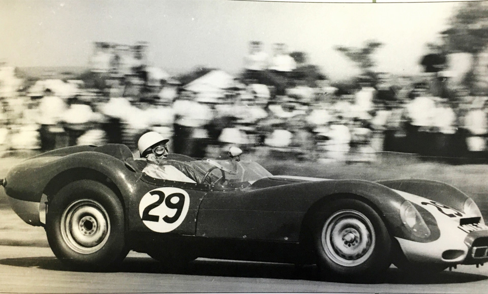 On this day in 1958 Stirling Moss raced to victory