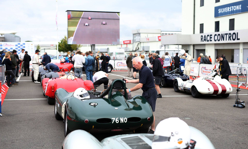 Lister Dominate at Silverstone Classic